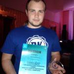 Шмыглевский Никита - 2 место в областном конкурсе «Лучший волонтер в сфере профилактики»