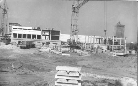 Фото из архива колледжа - Стройка главного корпуса